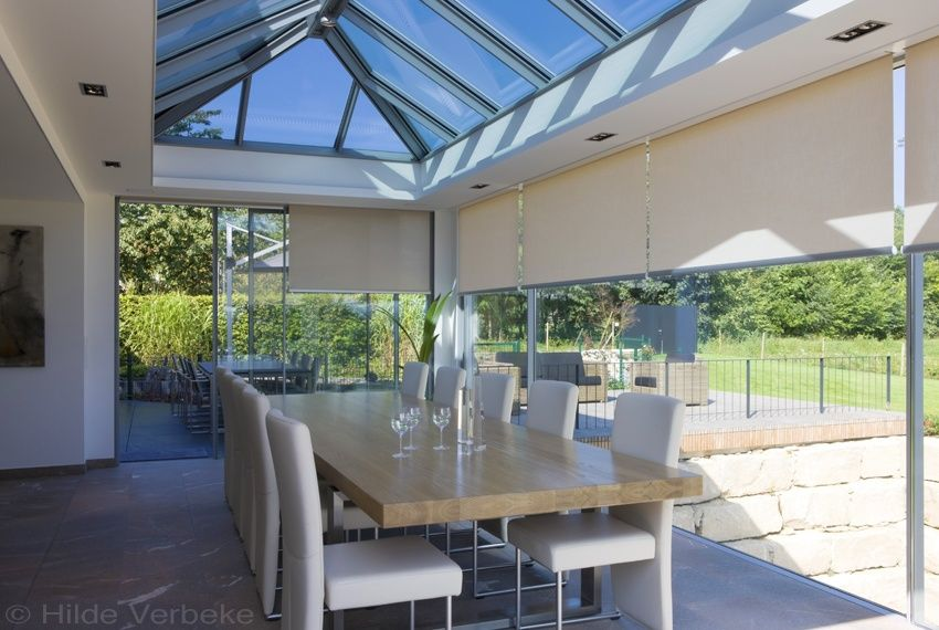Design veranda glass house moderne oranjerie de mooiste