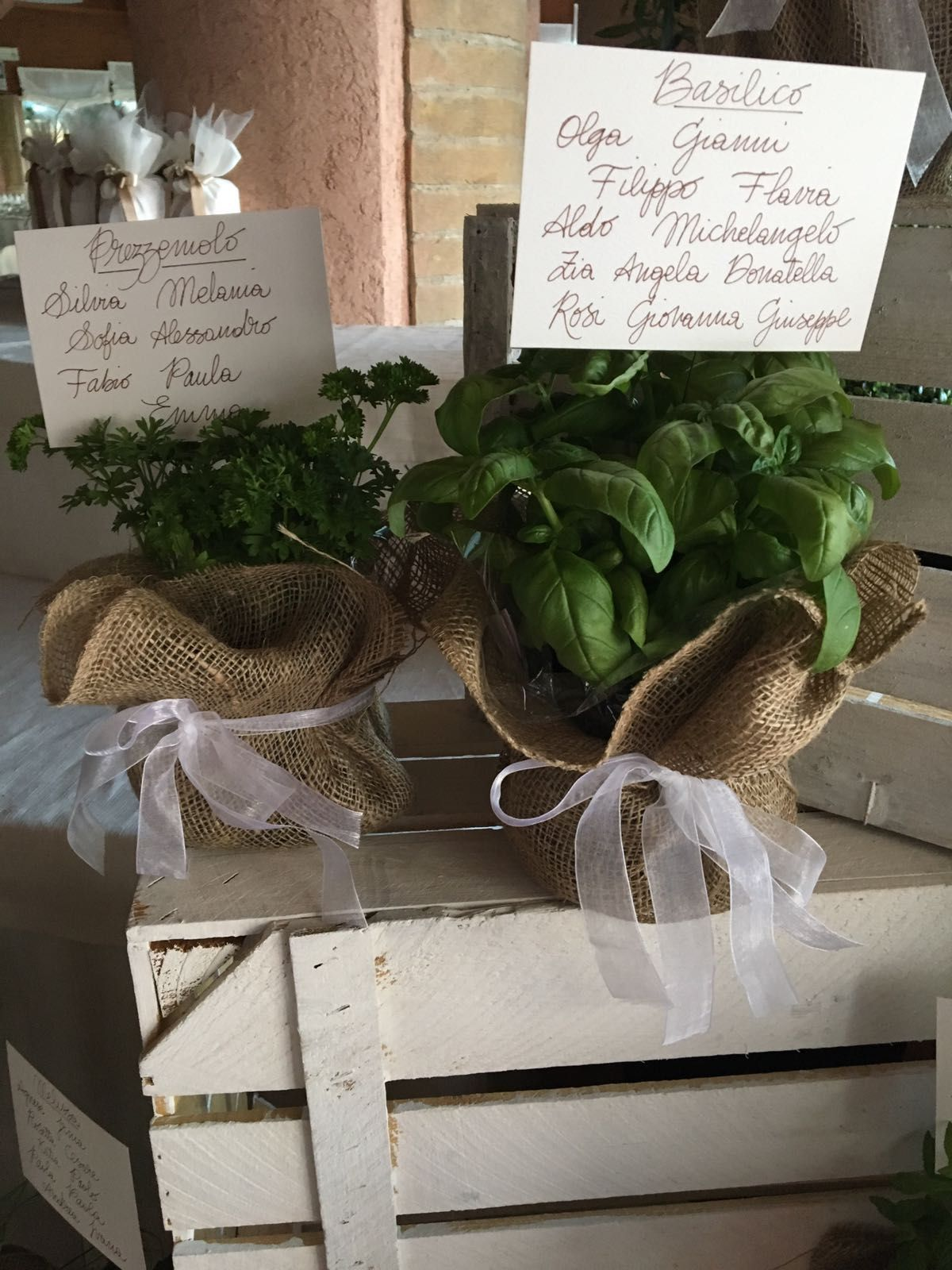 Tableau Matrimonio Tema Erbe Aromatiche : Tè e teiere per un matrimonio a tema rustykalny tableau