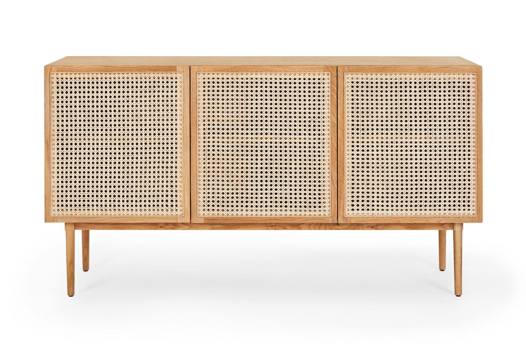 Tara Rattan Sideboard Buffet Cabinet With Storage Lounge