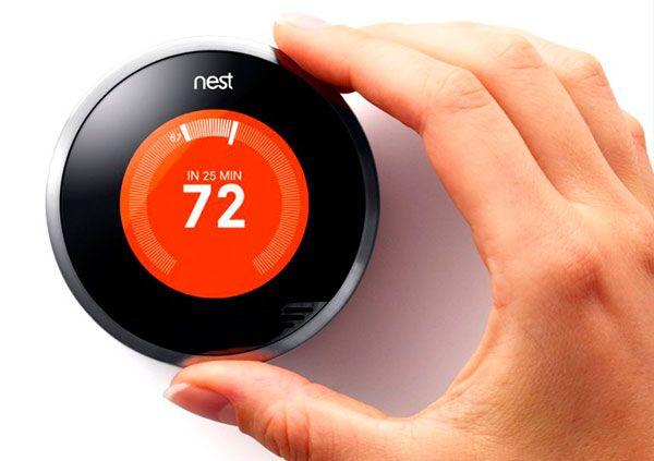 Termostato Digital Inteligente Cuatro Funciones Clave Para Ahorrar Calefacción Termostato Termostato Nest Termostato Inteligente