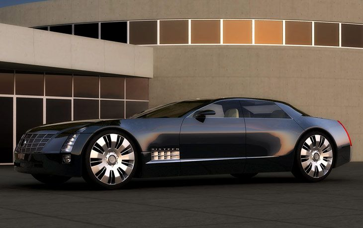 cadillac sixteen concept car