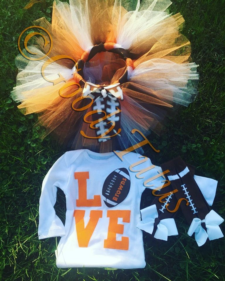 Love the Browns Tutu Set!  Http://www.facebook.com/goodytutus716  Etsy.com/shop/goodytu2s  IG: goody_tutus716