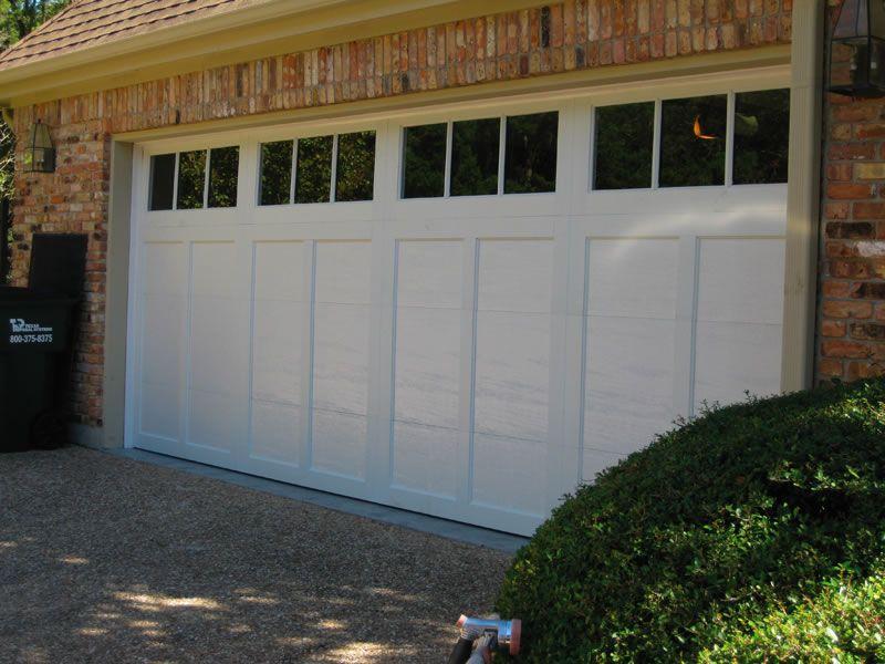 Steel Carriage House Garage Door Installed In Northwest Austin