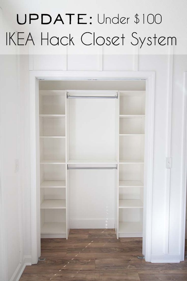 IKEA Hack DIY Closet System | UPDATE - Southern Revivals