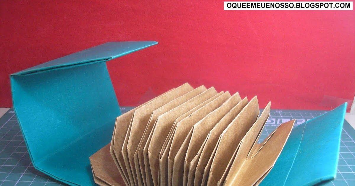 Nao Sabe O Que E Atc Saiba O Que E Clicando Aqui Fonte Source Livro X2f Book Origami Origami 3d Pasta Sanfonada