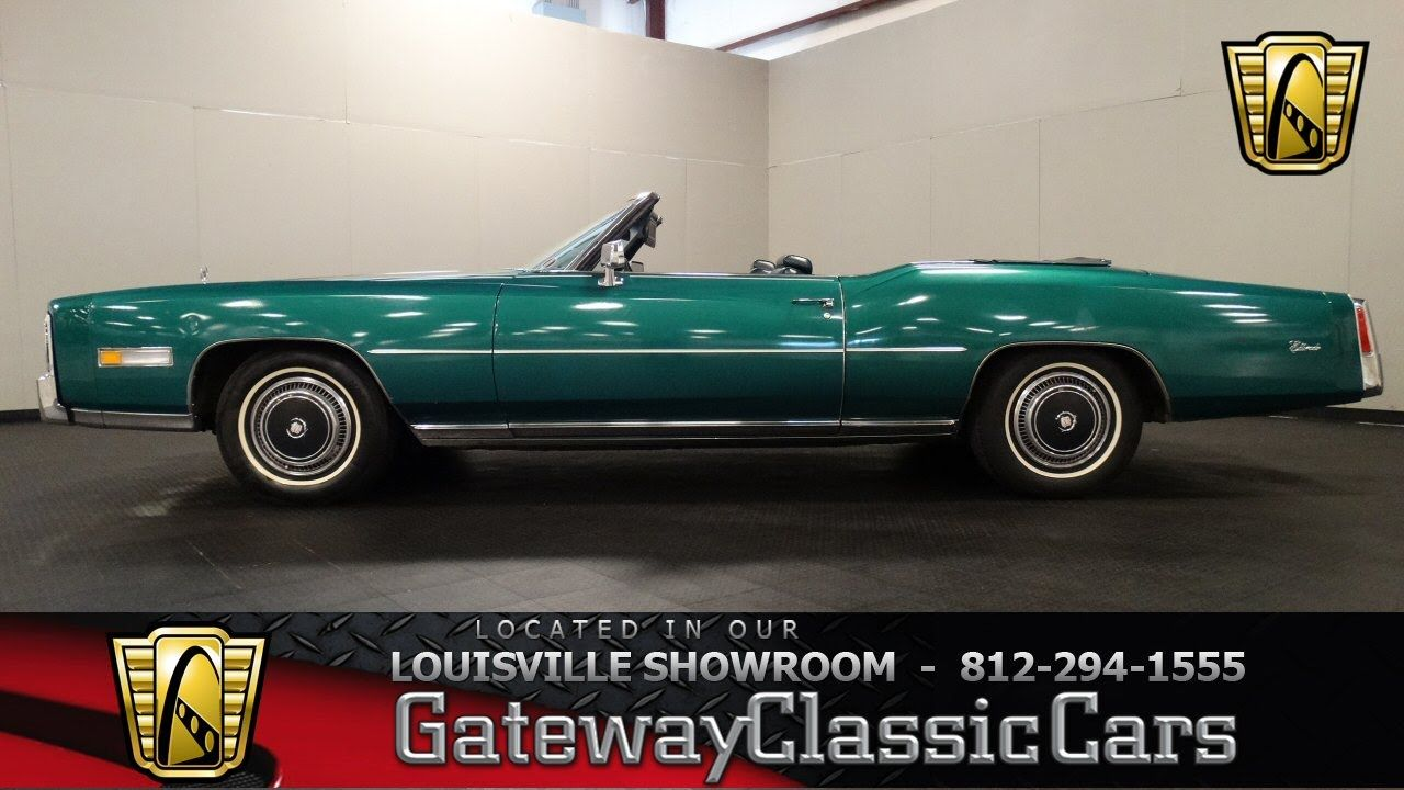 1976 Cadillac Eldorado Convertible - Louisville Showroom - Stock ...