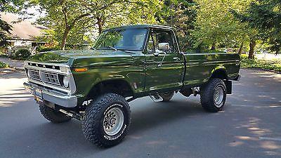 1976 Ford F250 4x4 Highboy 390v8 Dana 60 S Sweet Classic 70 S Ford