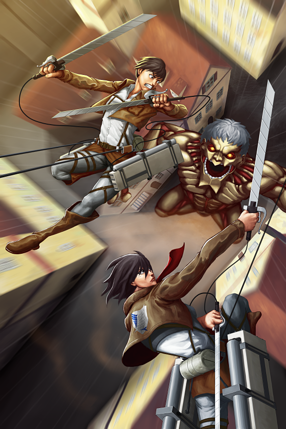 Attack on Titan by on