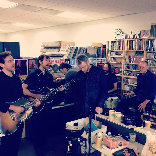 Watch The National S Tiny Desk Concert For Npr