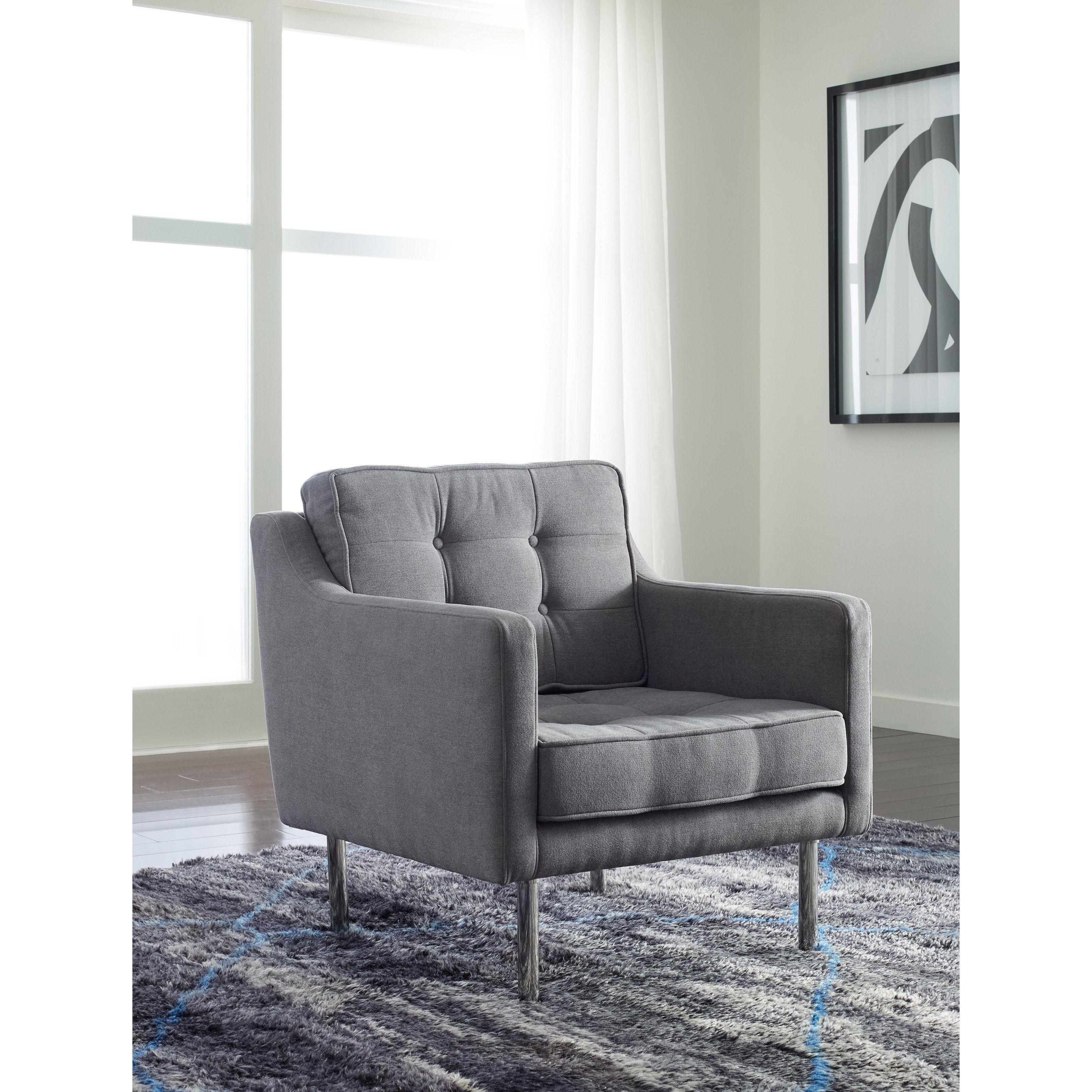 Sensational Tommy Hilfiger The Sylvia Upholstered Chair With Chrome Legs Short Links Chair Design For Home Short Linksinfo