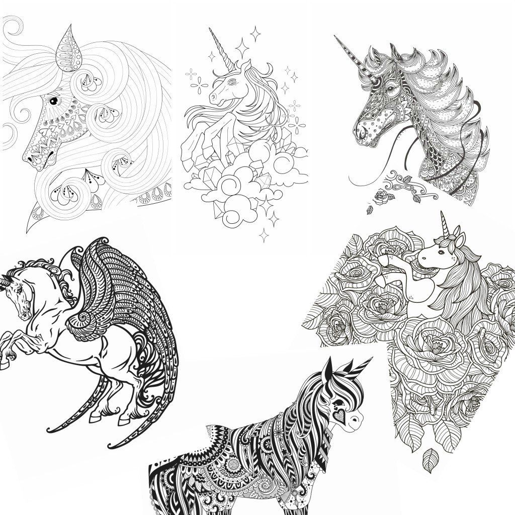 Unicorn Coloring Pages Printable Elegant Coloring Free ...