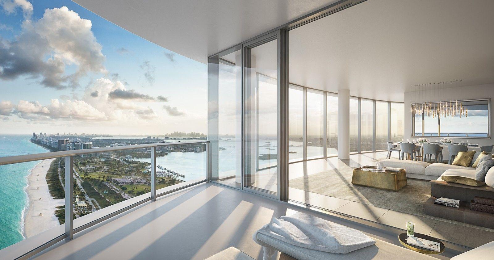 Balcony of Luxury Miami Condo   Miami condo, Miami beach residence, Miami  condominiums