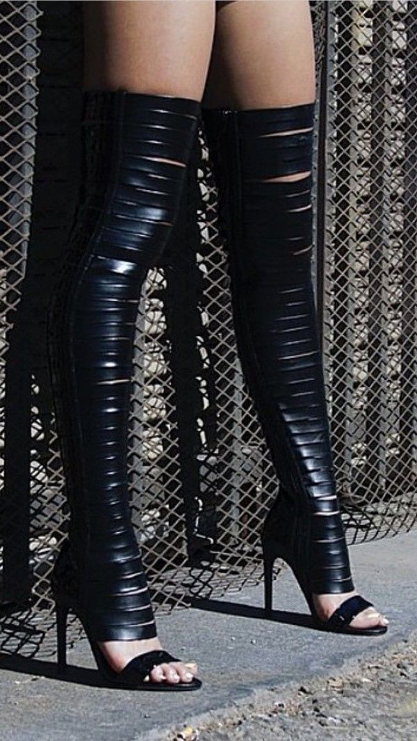 Shoes, 1 at Thigh high boots, Boots