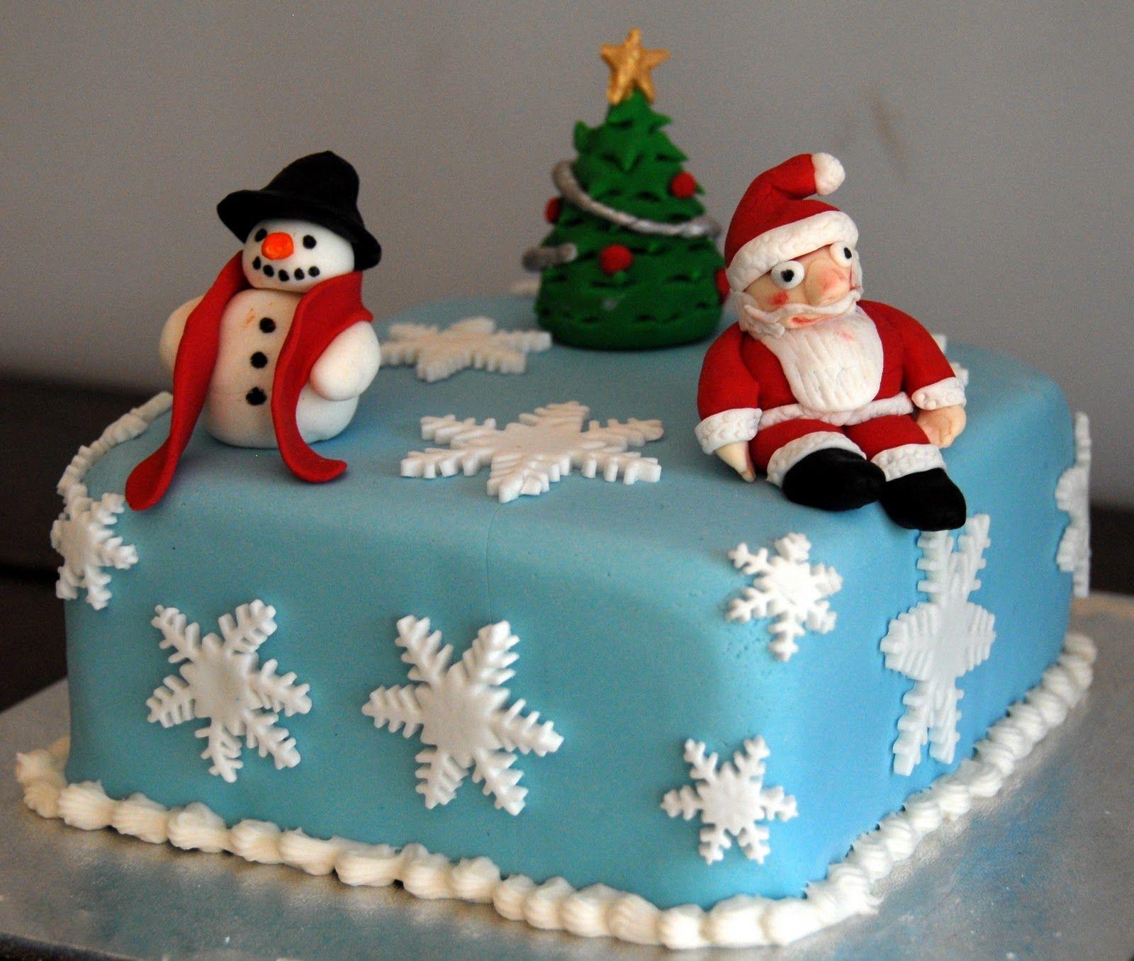 christmas cake decoration idea cakepins | cake decorations