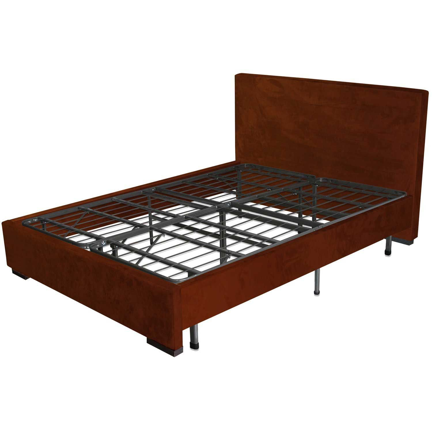 The Sleep Master Queen Metal Platform Bed Frame With