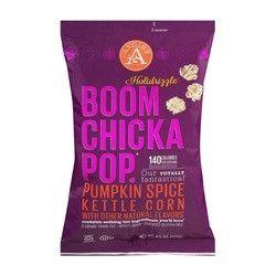 Angie's Holidrizzle Pumpkin Spice Popcorn (12x4.5 OZ)