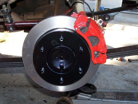 Rear Disc Brake Brackets Infamous Nissan Hardbody Frontier