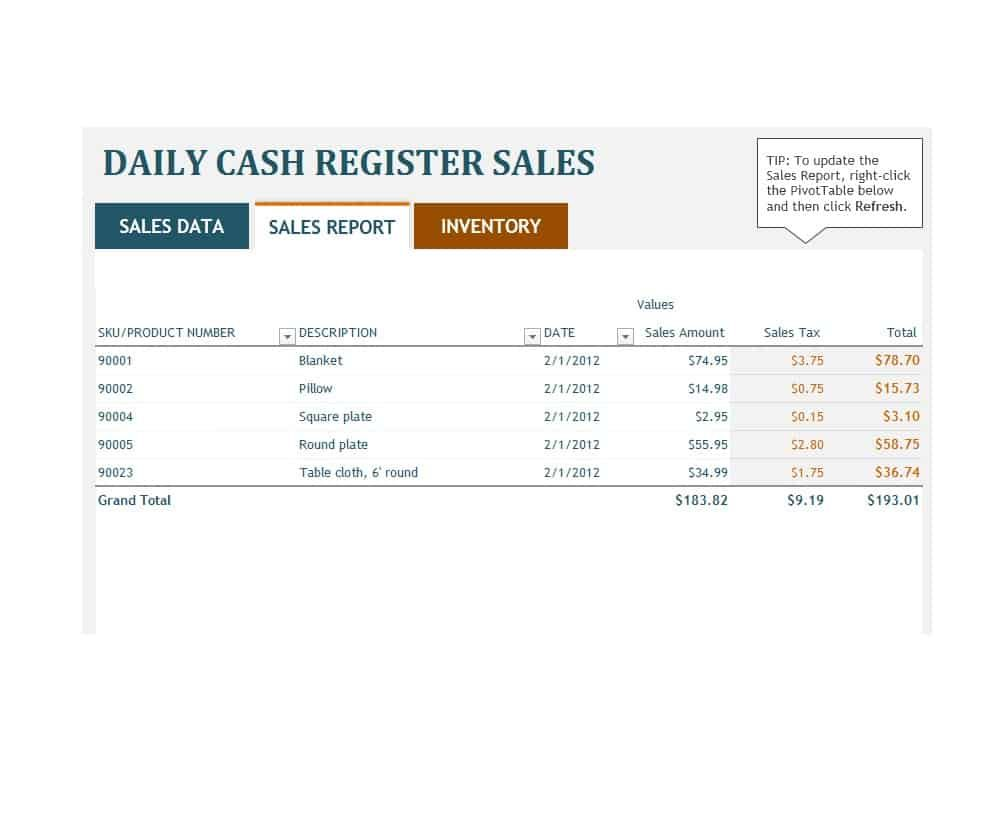 45 Sales Report Templates Daily Weekly Monthly Salesman