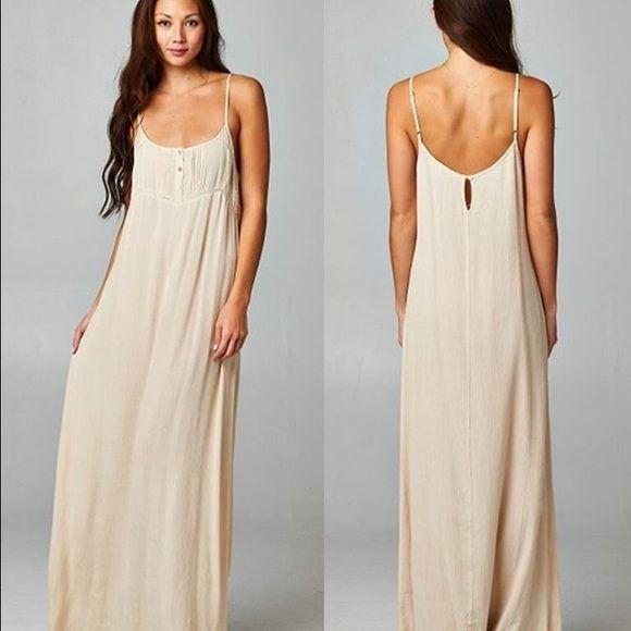Love Stitch Gauzy Vintage Vibe Boho Maxi Dress Boho Maxi Dress Maxi Dress Dresses