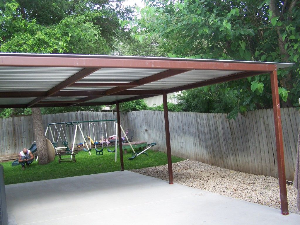 Attached Lean To Patio Cover North West San Antonio