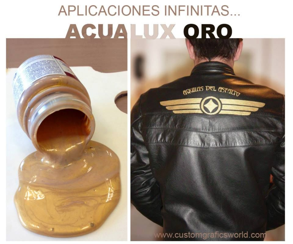 If you want to customize your leather blazers or jeans with gold paint, follow me on https://www.facebook.com/photo.php?fbid=321788004630868&set=pb.321714007971601.-2207520000.1384977448.&type=3&theater