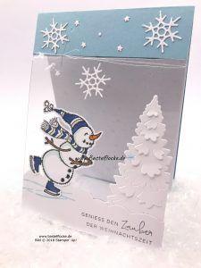 BlogHop Stampin @ first Design Team - Foil Card   craft flake #decodenoelfaitmaison