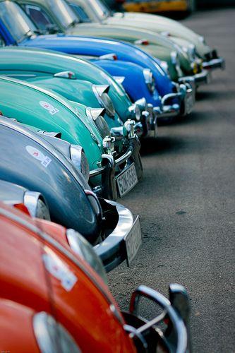 Old cars-Volkswagen Beetle