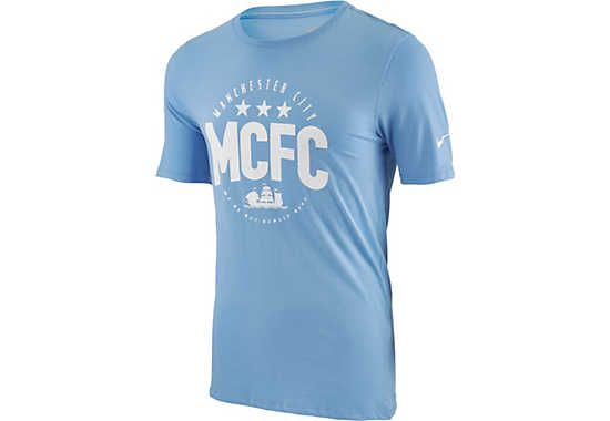 At SoccerPro. Nike Manchester City Core Plus Tee - Blue