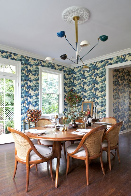 Dining room by Taylor Jacobson Interior Design photo by Amy Bartlam