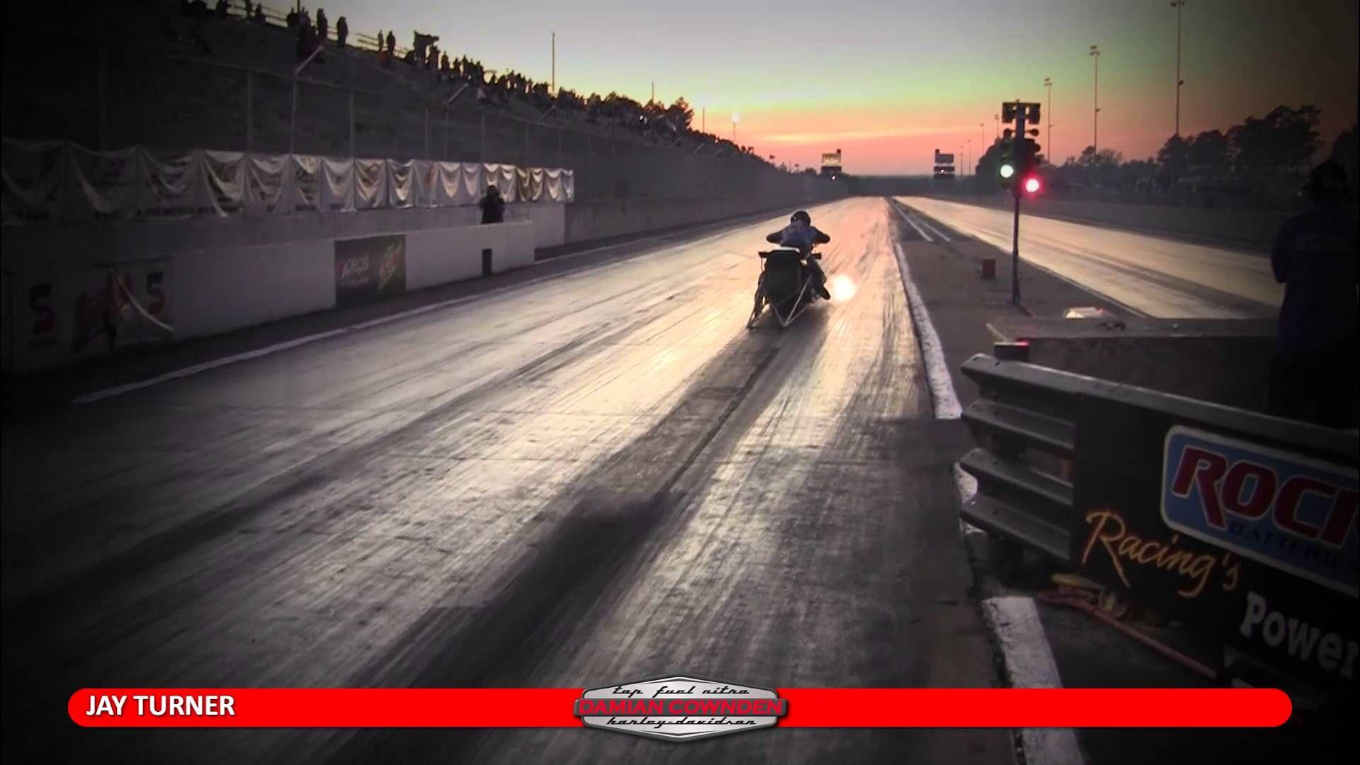 Damian Cownden Top Fuel Nitro HarleyDavidson Harley