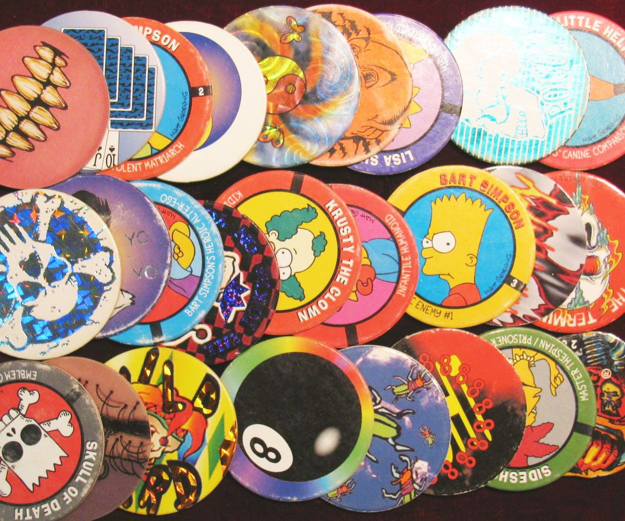 Pogs And Slammers | 80's and 90's party | Childhood games