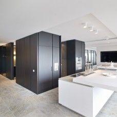 designer kuche kalea cesar arredamenti harmonischen farbtonen, 05. keuken met gang en doorkijk woonkamer | kitchens | pinterest, Design ideen