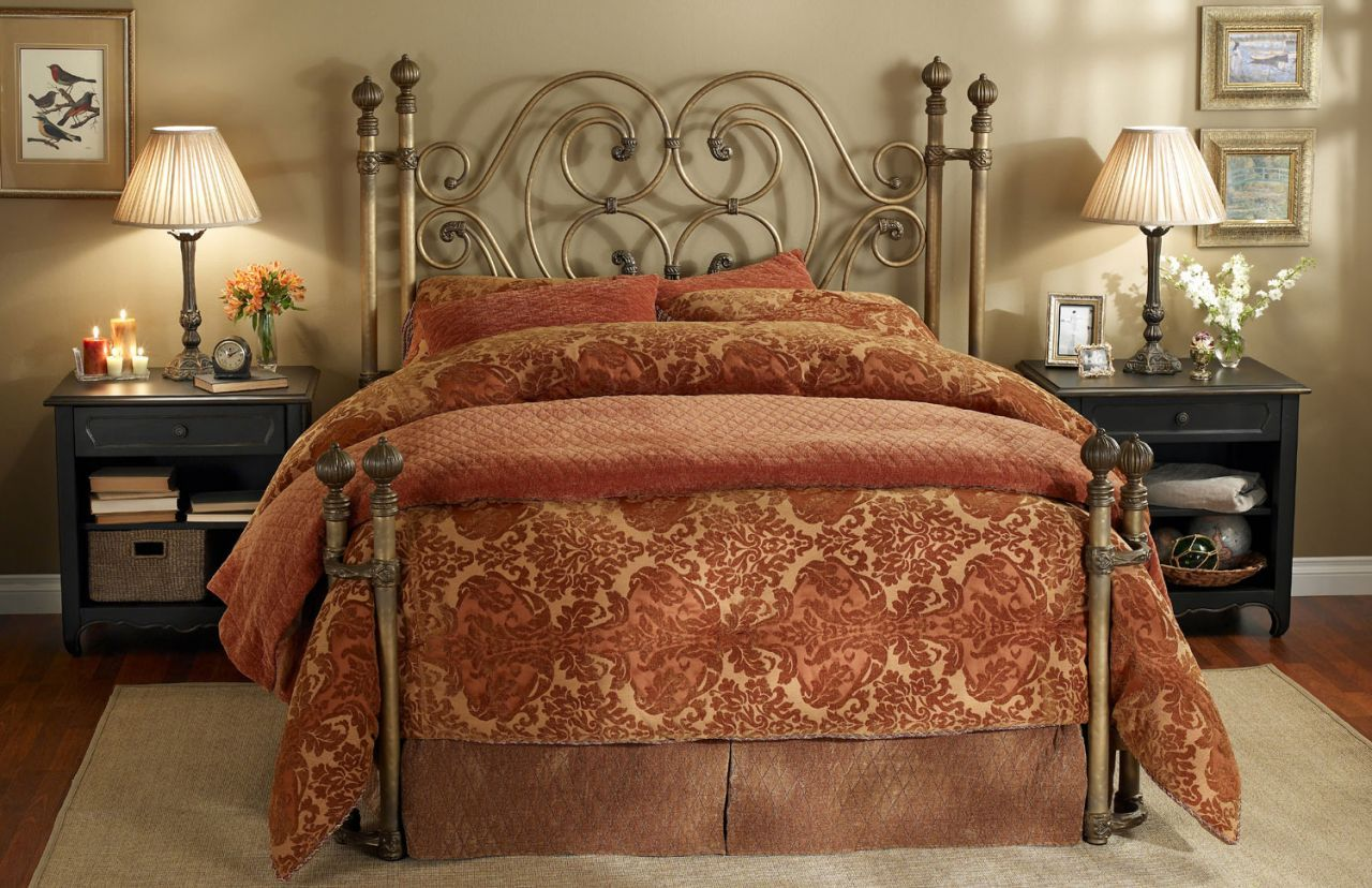 Home Gallery Furniture for Metal Beds, Queen Alhambra