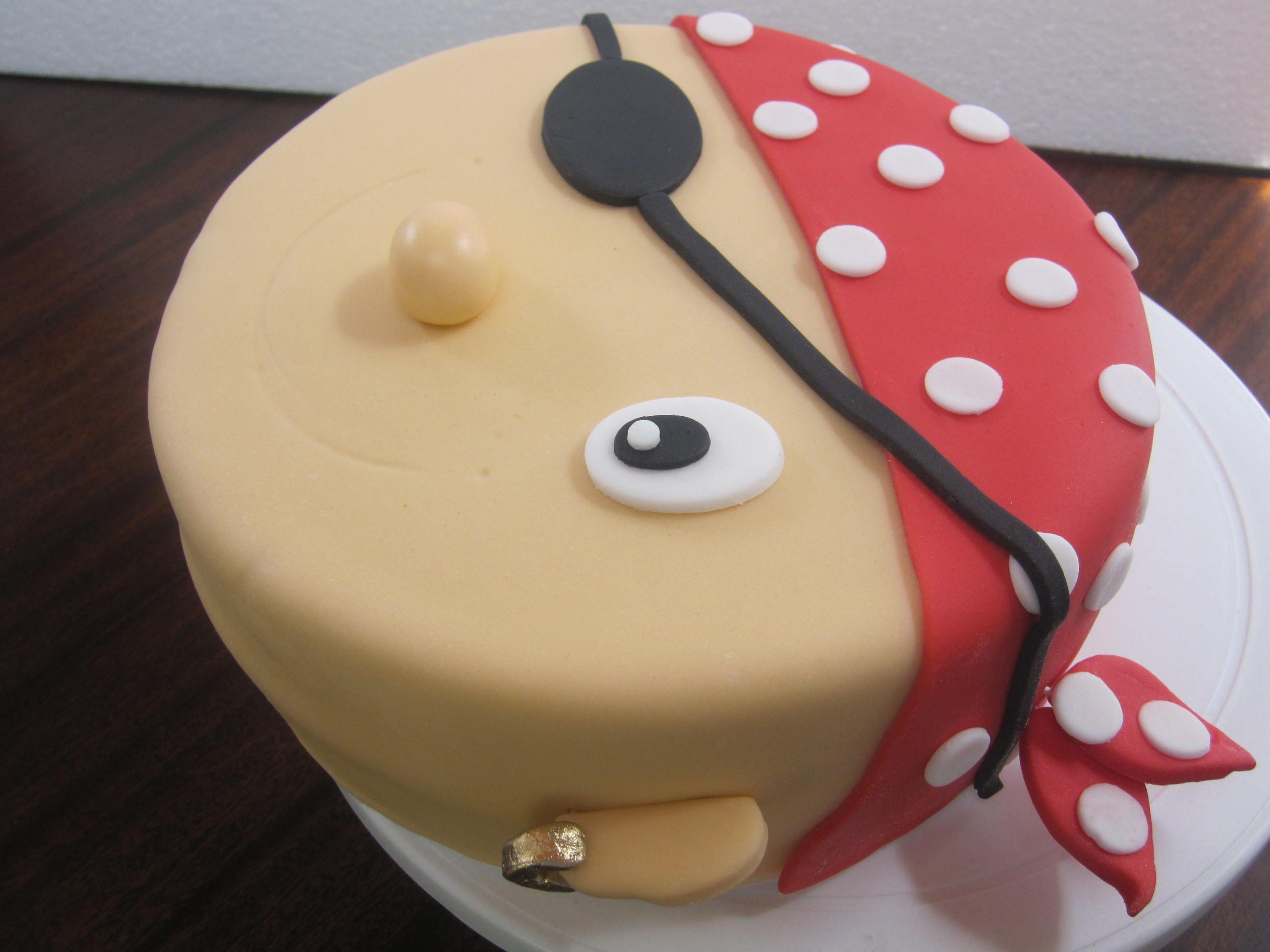 Pirate Face Cake Mocka Mocka Piratecake Ponque Pirate