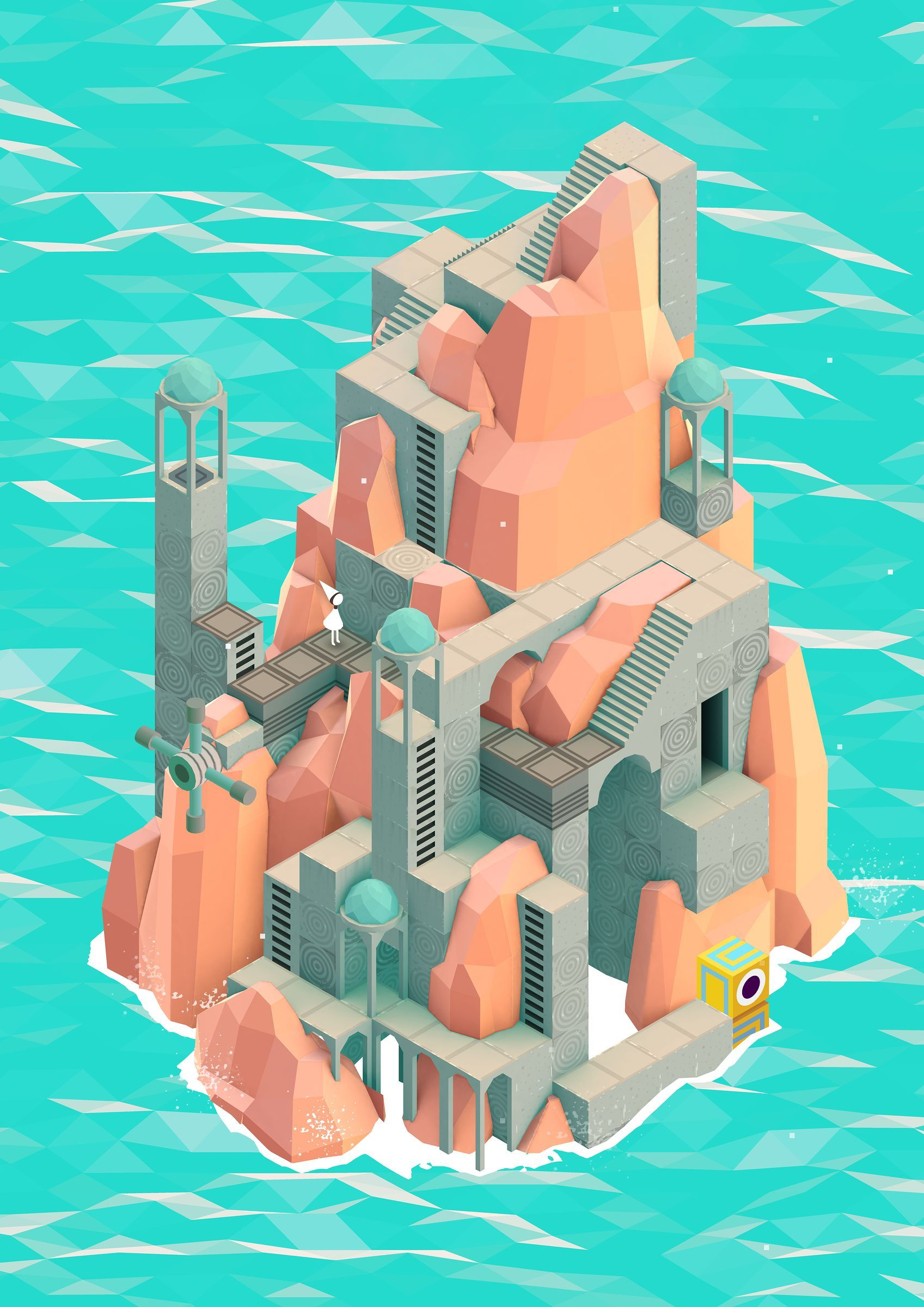 Monument Valley | Beautiful Interface Design Phone Game ...