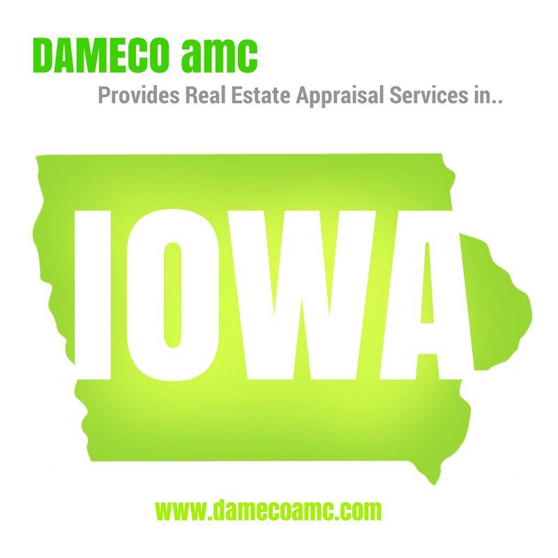 Real Estate Appraisals in Iowa DAMECO AMC Appraisal