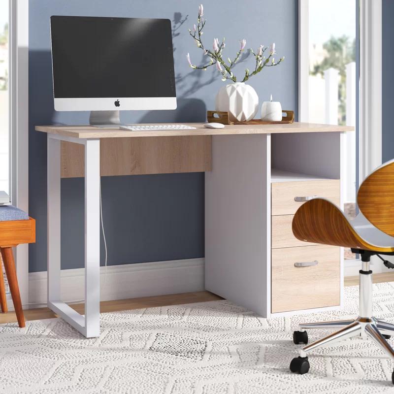 Ebern Designs Crownfield Writing Desk Wayfair Desk Wood Computer Desk Furniture