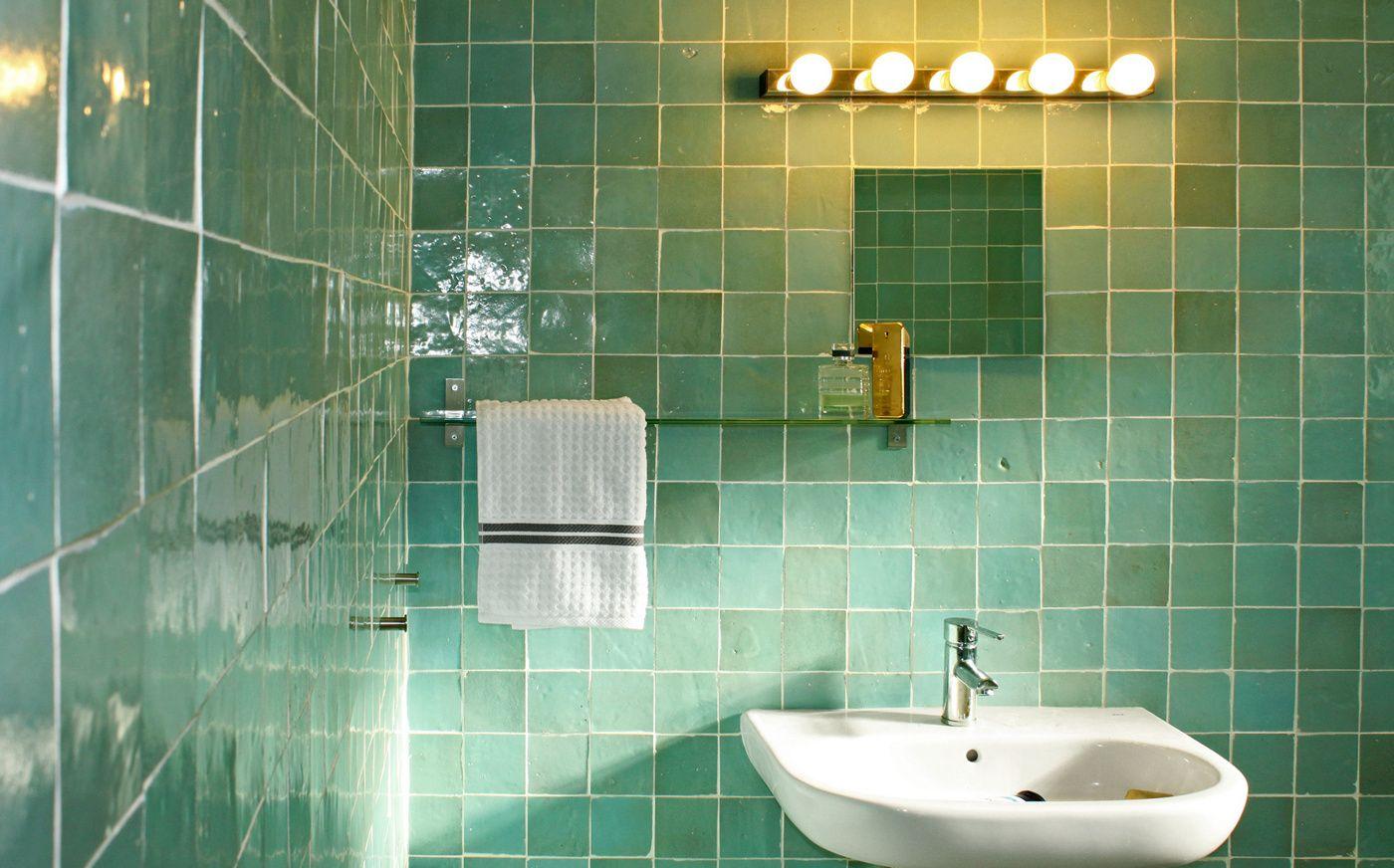 Salle De Bain Zellige Bleu ~ gront badrum badrum pinterest zellige amour et maisons