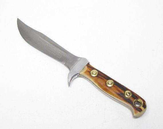 Vintage old german germany puma solingen hunting knife