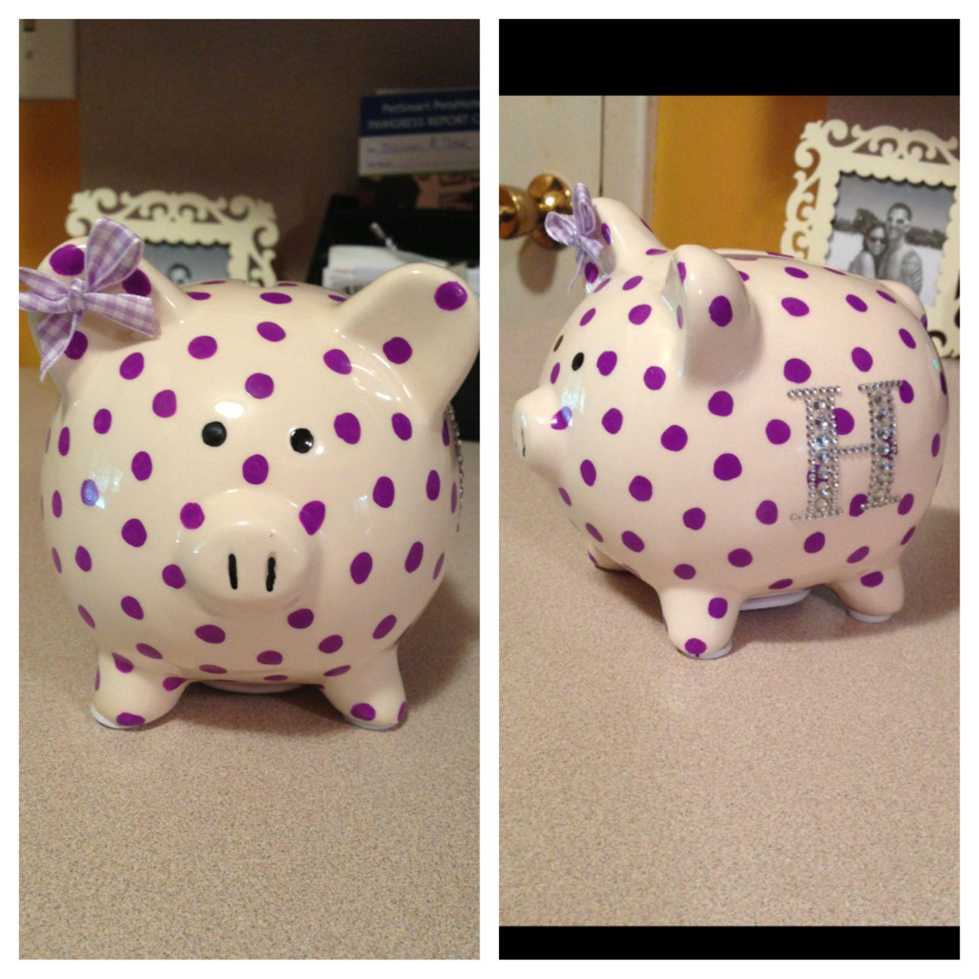 The Piggy Bank I Made Harper