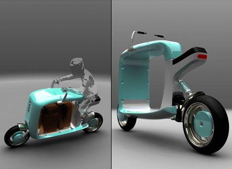 Cargo Scooter By Elliot Ortiz