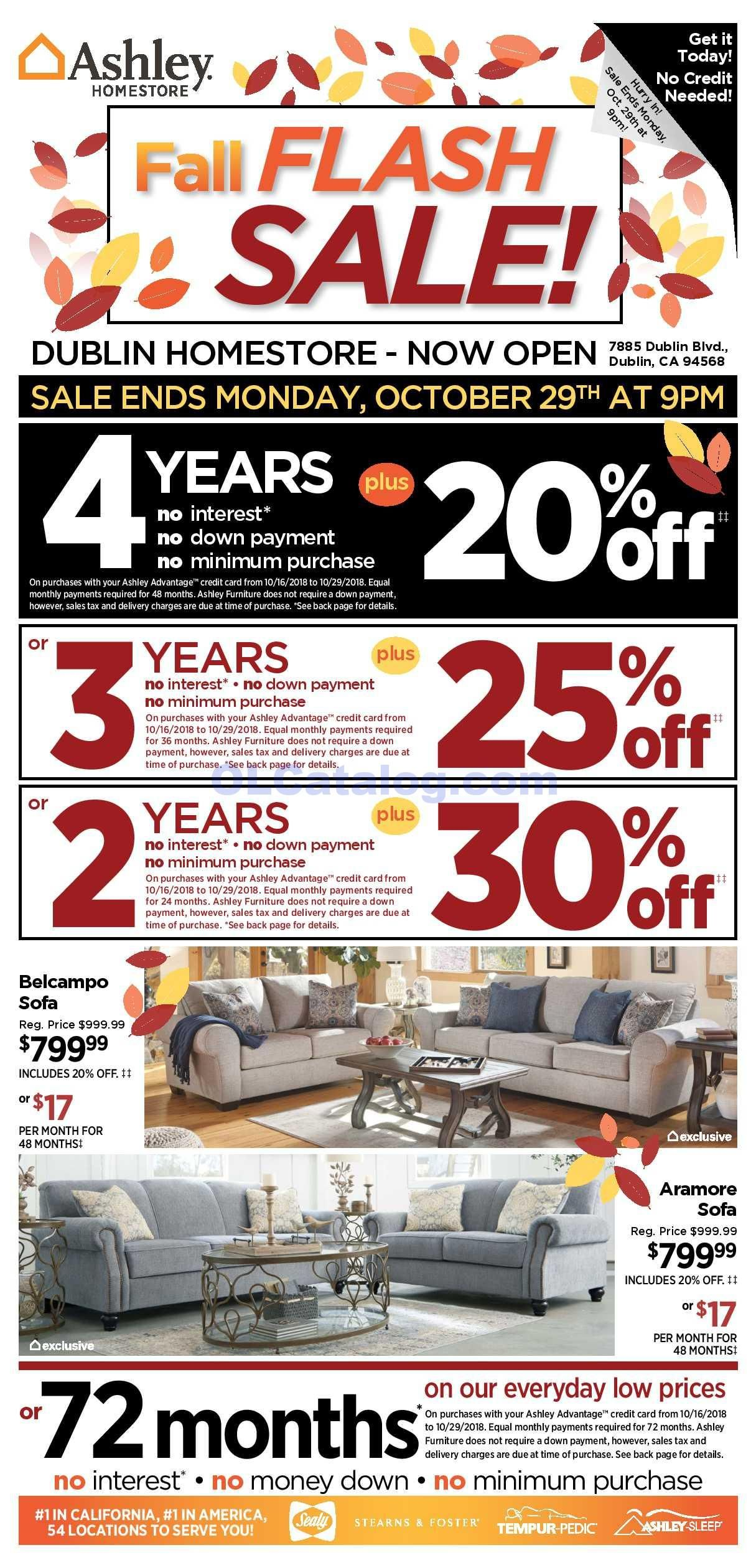 Ashley Furniture Homestore Ad October 16 22 2018 Do You Know What S In And What S Hot In The Ashley Furniture For This Week If You Haven T Using The Store