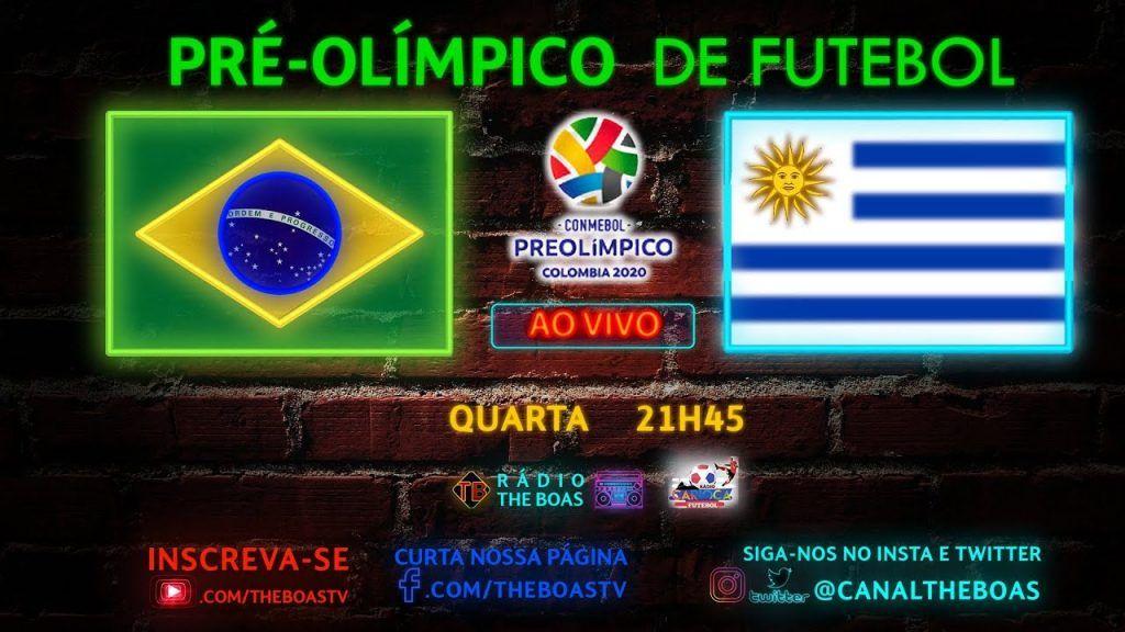Narracao Online De Brasil X Uruguai Futebol Ao Vivo Placar Tempo Real Pre Olimpico De Futebol 2020 Futebol Stats Futebol Ao Vivo Uruguai Futebol