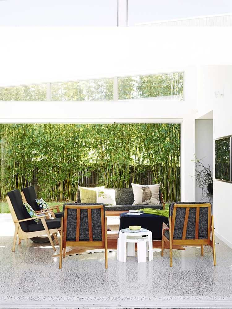Brise-vue bambou et clôture pour plus d\'intimité dans le jardin ...
