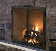 Heat Glo Rutherford Wood Fireplace With Images Wood
