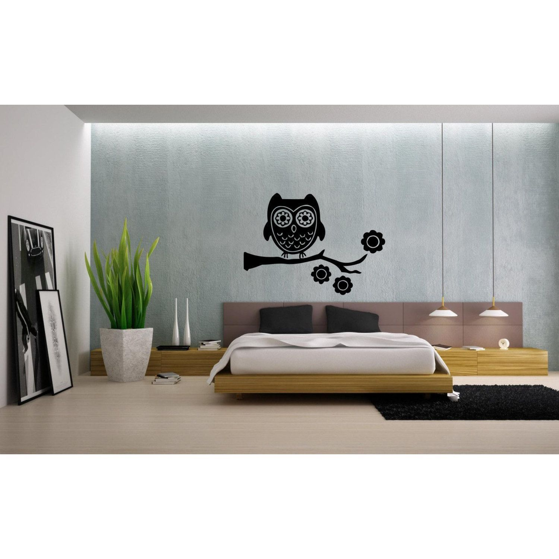 Design A Bedroom Online Endearing Owl On Tree Branch Vinyl Sticker Wall Art  Products  Pinterest Design Ideas