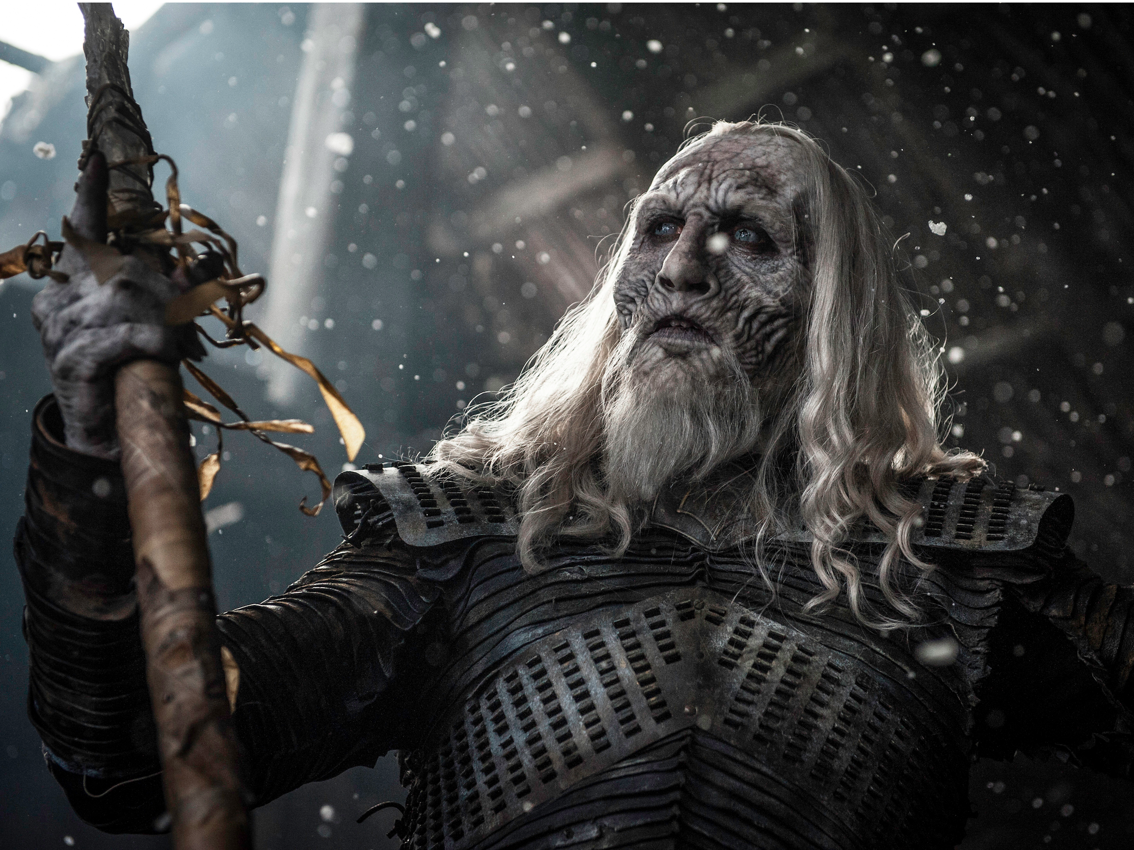 'Game of Thrones' Night King brings storm and clears up