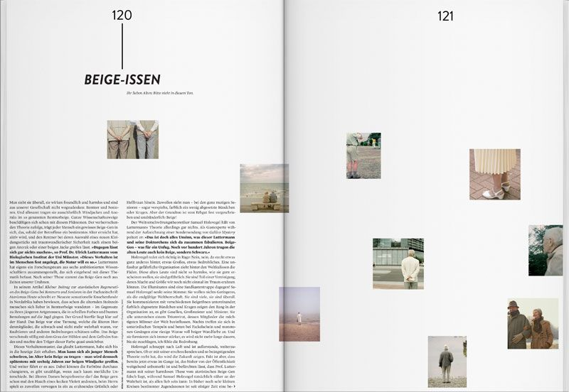 Beige-Issen, Doppelseite   Design   Magazine Spread   Pinterest
