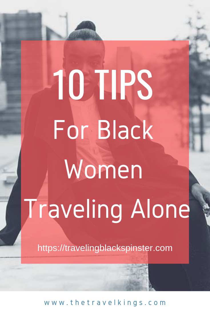 Traveling Alone Black Woman