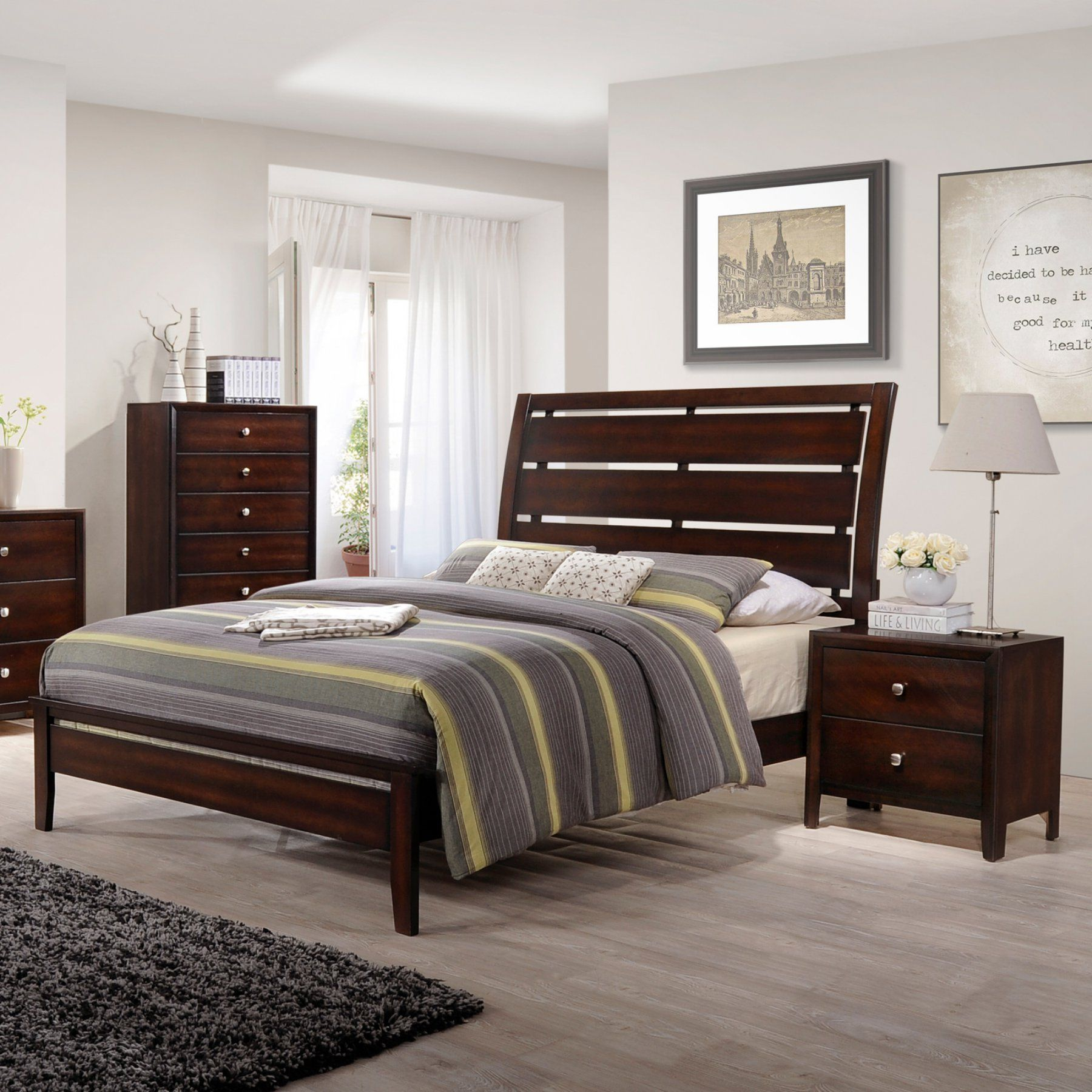 United Furniture Jackson Panel Bed | Products | Pinterest